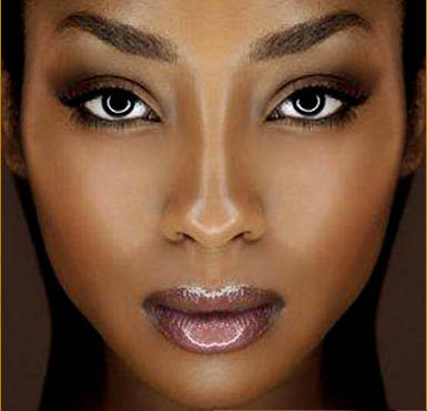 Black Lady Makeup http://urbangirlmag.wordpress.com/2012/03/27/your-brown-skin-makes-you-beautiful/