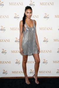 NEW YORK, NY - JUNE 20:  MIZANI Campaign Model Chanel Iman attends the MIZANI 25th Anniversary Celebration and Styling Renaissance Launch hosted by Global Artistic Director and Celebrity Stylist Cesar Ramirez and Campaign Models Chanel Iman, Maria Borges, Grace Mahary and Heidy De la Rosa on June 20, 2016 in New York City.  (Photo by Brian Ach/Getty Images for MIZANI)