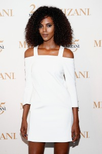 NEW YORK, NY - JUNE 20:  MIZANI Campaign Model Grace Mahary attends the MIZANI 25th Anniversary Celebration and Styling Renaissance Launch hosted by Global Artistic Director and Celebrity Stylist Cesar Ramirez and Campaign Models Chanel Iman, Maria Borges, Grace Mahary and Heidy De la Rosa on June 20, 2016 in New York City.  (Photo by Brian Ach/Getty Images for MIZANI)