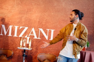 NEW YORK, NY - JUNE 20:  Global Artistic Director and Celebrity Stylist Cesar Ramirez speaks onstage during the MIZANI 25th Anniversary Celebration and Styling Renaissance Launch hosted by Global Artistic Director and Celebrity Stylist Cesar Ramirez and Campaign Models Chanel Iman, Maria Borges, Grace Mahary and Heidy De la Rosa on June 20, 2016 in New York City.  (Photo by Brian Ach/Getty Images for MIZANI)